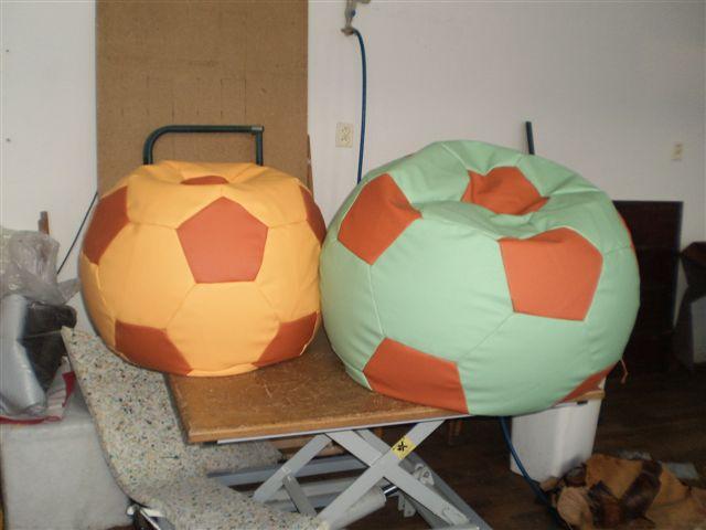 Výroba sedacích míčů a matrací