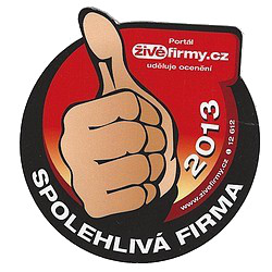Spolehlivá firma 2013