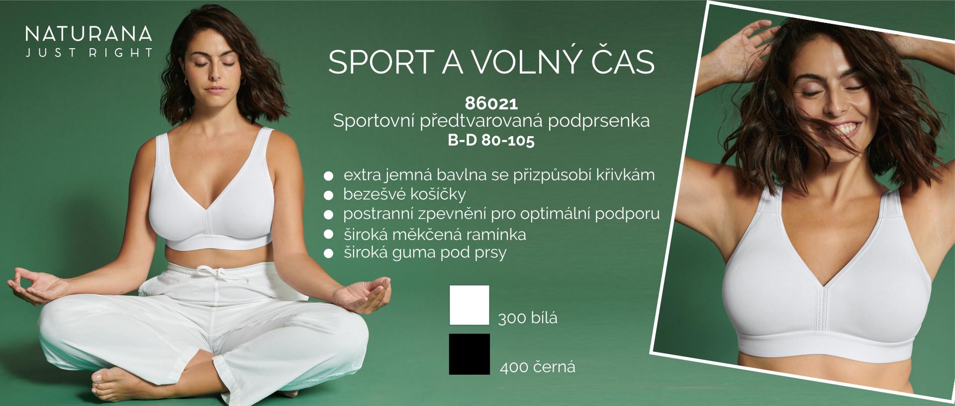 Sportovní podprsenka 86021 Naturana