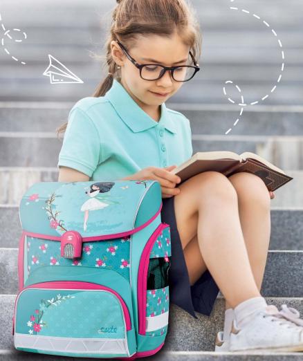 dívčí školní batohy