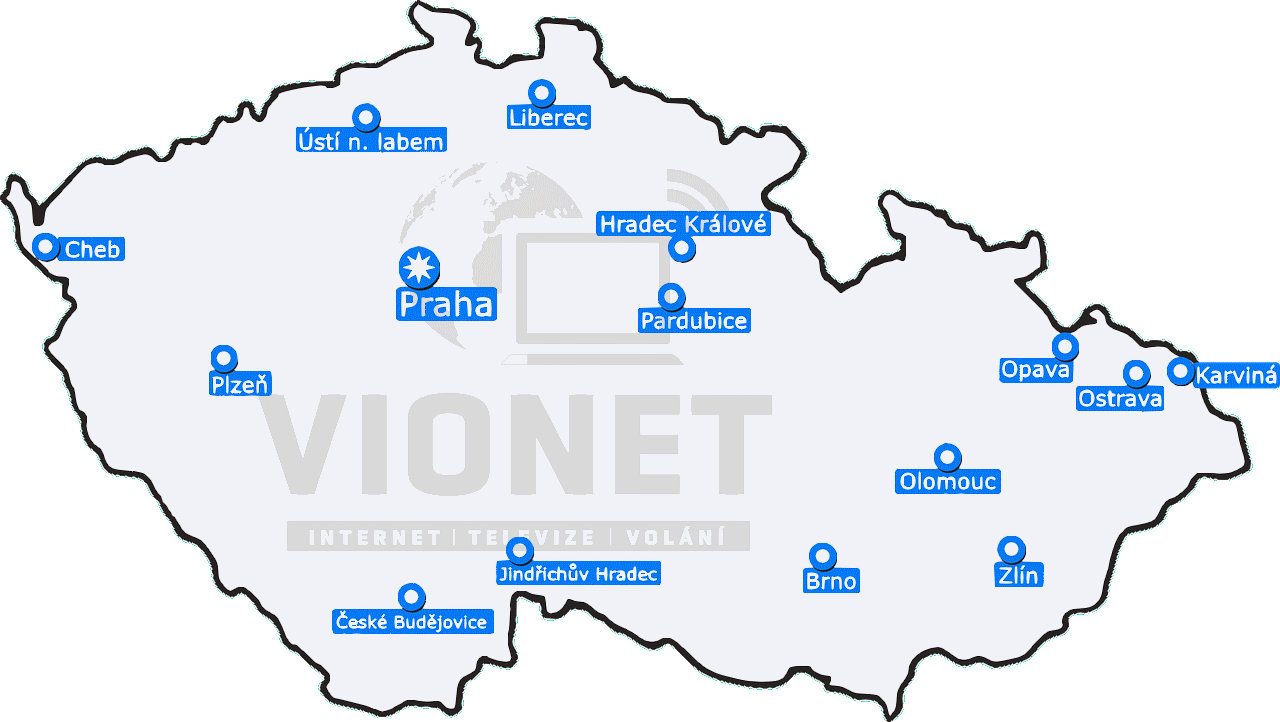 mapa vionet