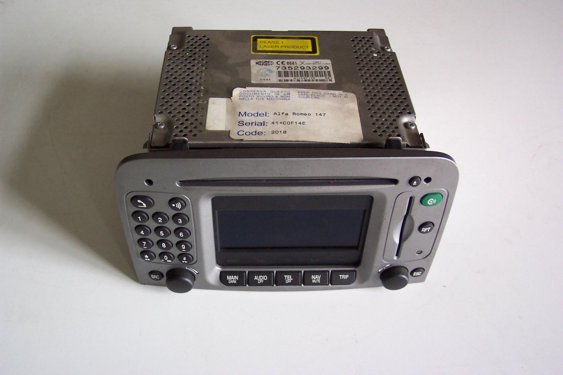Auto radio s navigaci AR 147