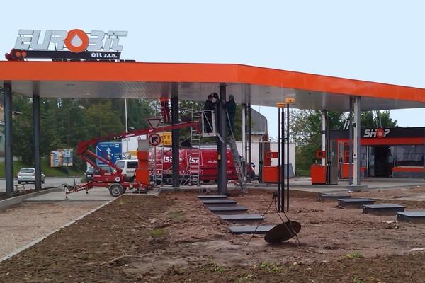 Kompletní vybavení čerpacích stanic