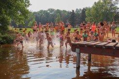 běh do vody